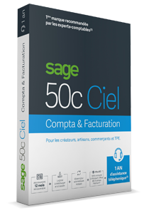 Pack : Sage 50cloud Ciel Compta + Facturation